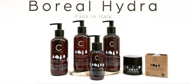 Boreal Hydra: eco-sustainable cosmetics